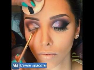 Нереальной красоты макияж