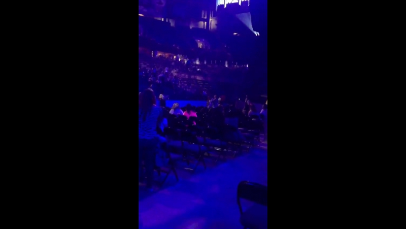 June 14: Fan taken video of Justin at Rexall Place in Edmonton, AB.