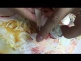 Втирка для ногтей СЕРЕБРО- пигмент хром. Зеркальные ногти! Наша продукция https://vk.com/perfumes.makeup
