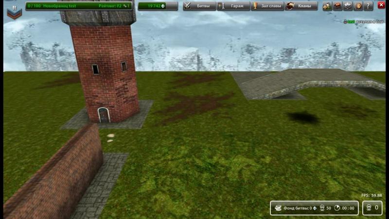 Gtanks тест теней под танком