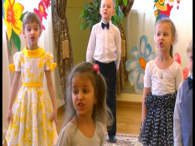 8 Марта Песня Мамины цветочки (средняя группа) детский сад 15 Коломна