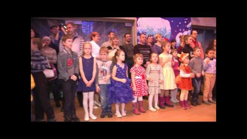 Новогоднее театрализованное представление у елки Новогодний переполох