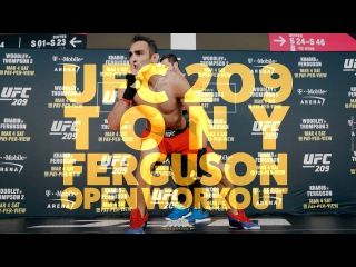 UFC 209: Tony Ferguson Open Workout (Complete)