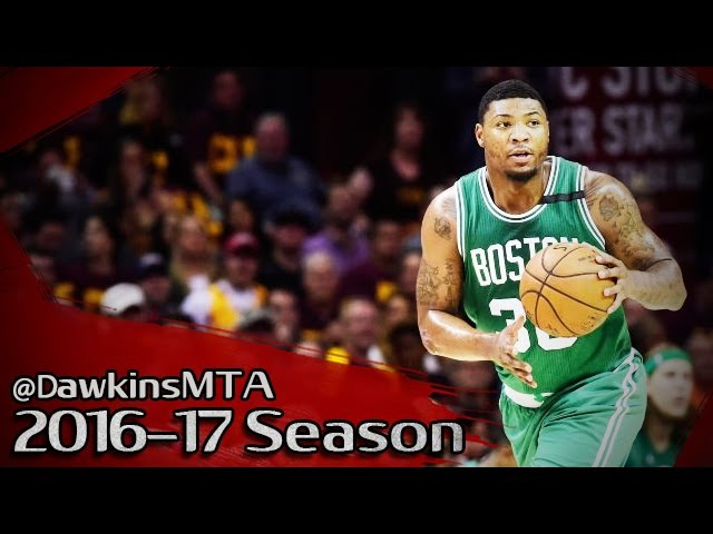 Marcus Smart Full Highlights 2017 ECF Game 3 at Cavs - 27 Pts, 7 Assists, 7-10 3PM!