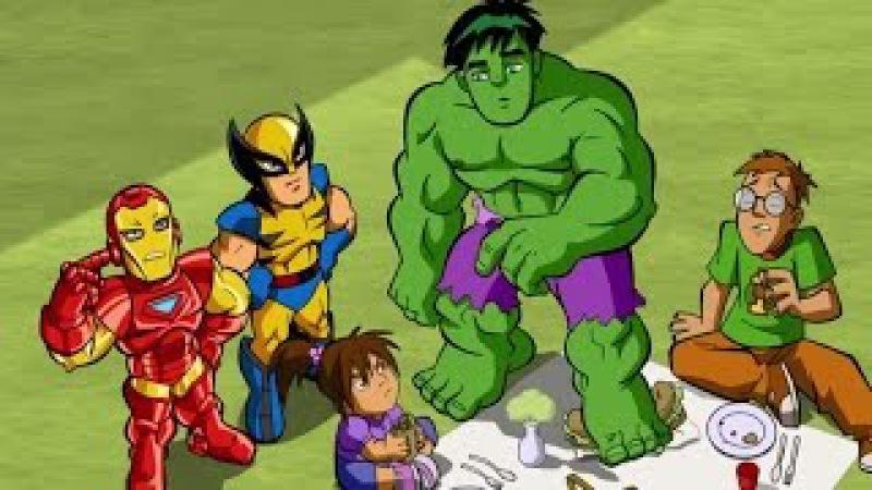 Отряд супергероев - Этот Серебряный, он такой серфер - Сезон 1, Серия 3 | Marvel