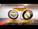 Highlights: Fenerbahce Istanbul-Real Madrid. Евролига. Обзор. Фенербахче - Реал Мадрид