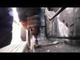 автоматизированная установка резьбовых заклёпок под болты м5 на подножки уаз Патриот