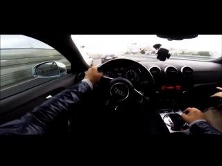Минутка безумства на Audi TT / Crazy Driver