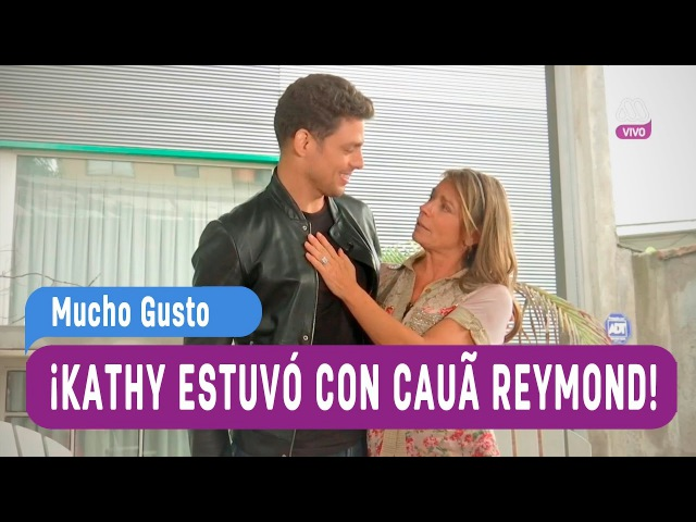 Kathy entrevistó a Cauã Reymond Jorgito Mucho Gusto 2016