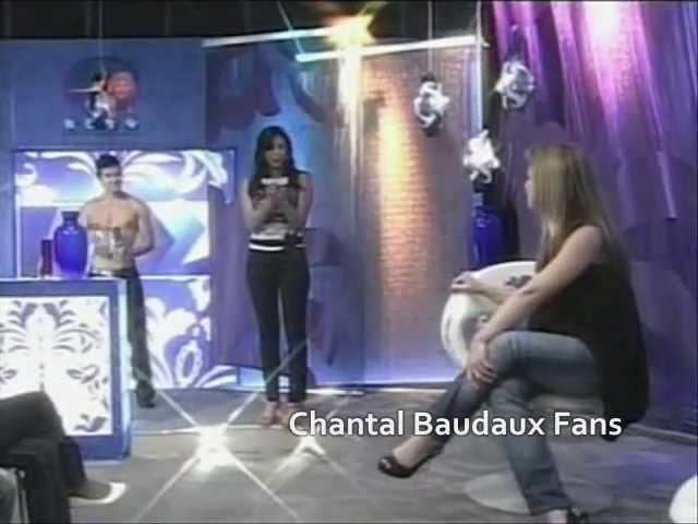 Chantal Baudaux y Nacho Huett en programa Cita con las estrellas (2009)