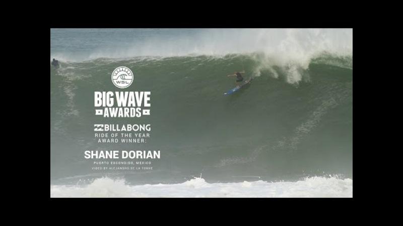 Shane Dorian's Billabong Ride of the Year Winner - WSL Big Wave Awards 2015