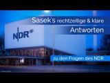 AKTUALISIERTE VERSION Sasek's rechtzeitige und klare Antworten zu den Fragen von ZAPP (NDR)