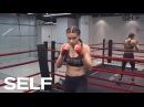 Adriana Lima's 4-Move Boxing Workout | SELF