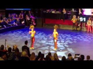 IDO Disco Dance World Championships 2016, Jennifer & Stephanie Wallen