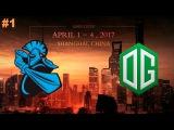 NewBee vs OG #1 (bo3) | Dota 2 Asia Championships