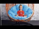 Подвесное кресло из искусственного ротанга ,,Лазурь,, от 14900 рублей. Подушка в под...