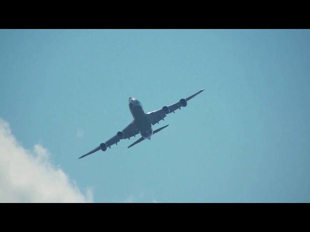 FullHD AirBridgeCargo Boeing-747-8HV(F) VQ-BRH departs Moscow SVO for Shanghai PVG 2016-08-05