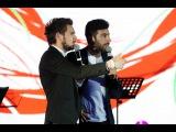 Ведущие на праздник. Панин Егор и Гасанов Борис