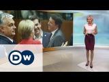 Саммит ЕС: почему Рим против новых санкций в отношении РФ? - DW Новости (21.10.2016)