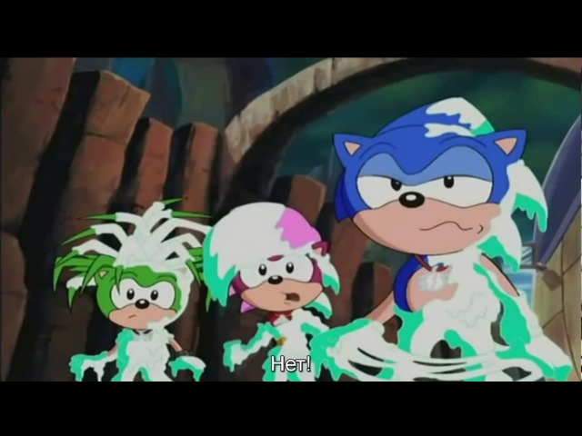 29-[Sonic Underground]-В городе новая ехидна (Кризис с изумрудом хаоса - Часть 3) (Rus AutoSub)