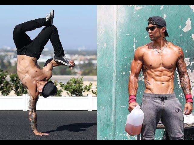 Michael Vazquez SUPERHUMAN Workout Calisthenics Street Workout BREAKDANCE