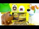 Тайная жизнь домашних животных друзья в музее Египта. Видео с игрушками для детей.