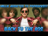 Stranger Things Kids Go Back to the 80s and MILLIE GETS ADDICTED TO POP ROCKS!!!