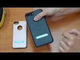 Review Hoco Simple series Pago bracket cover for IPhone 7 Plus