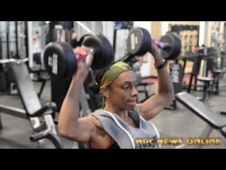 IFBB Bikini Pro Bianca Berry Workout 1 week out from 2016 Contest Win