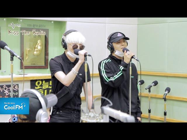 위너(WINNER) 송민호 강승윤 눈, 코, 입 라이브 LIVE 170522[이홍기의 키스 더 469