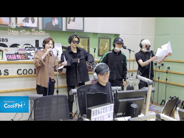 위너(WINNER) 휘파람 라이브 LIVE 170522[이홍기의 키스 더 라디오]