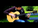 Fairy Tail Main Theme Slow Solo Acoustic Guitar Eddie van der Meer Request Video 3