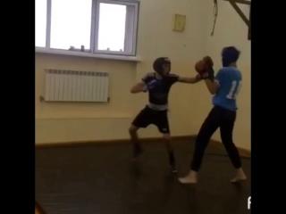 Спарринг бокс ) Асик и Джамбот