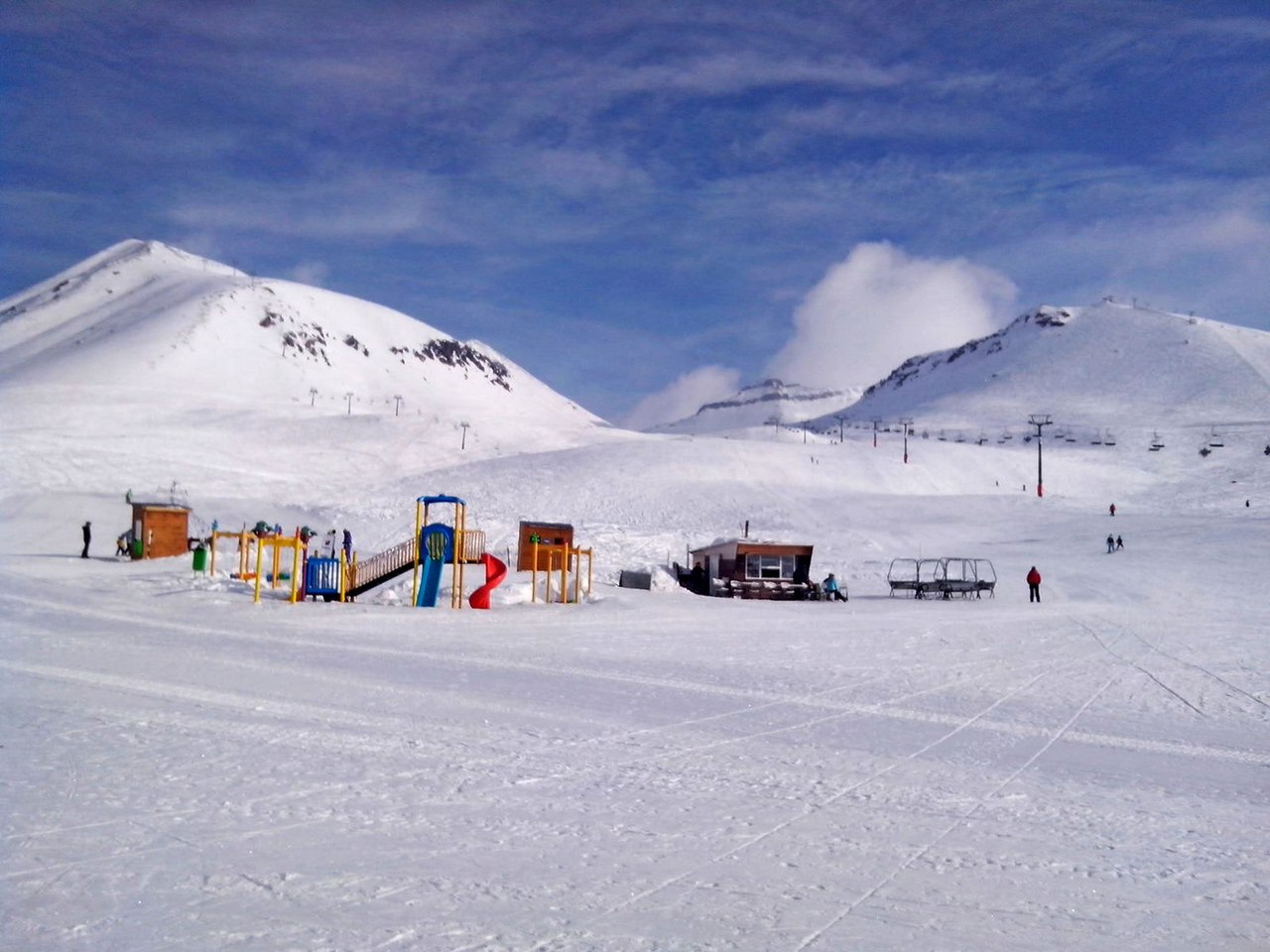 Гудаури - горнолыжный курорт!