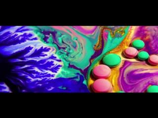 Королевство цветов – цветные жидкости в движении