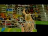 Яна Кудрявцева - булавы (квалификация)  ОИ Рио 2016
