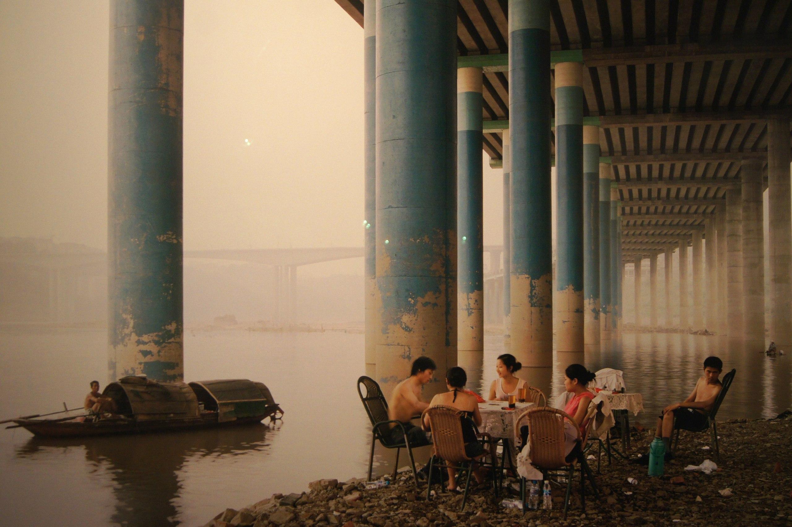 Надав Кандер. Округ Чунцин. 2006. Из серии «Янцзы, длинная река» (2006-2007)