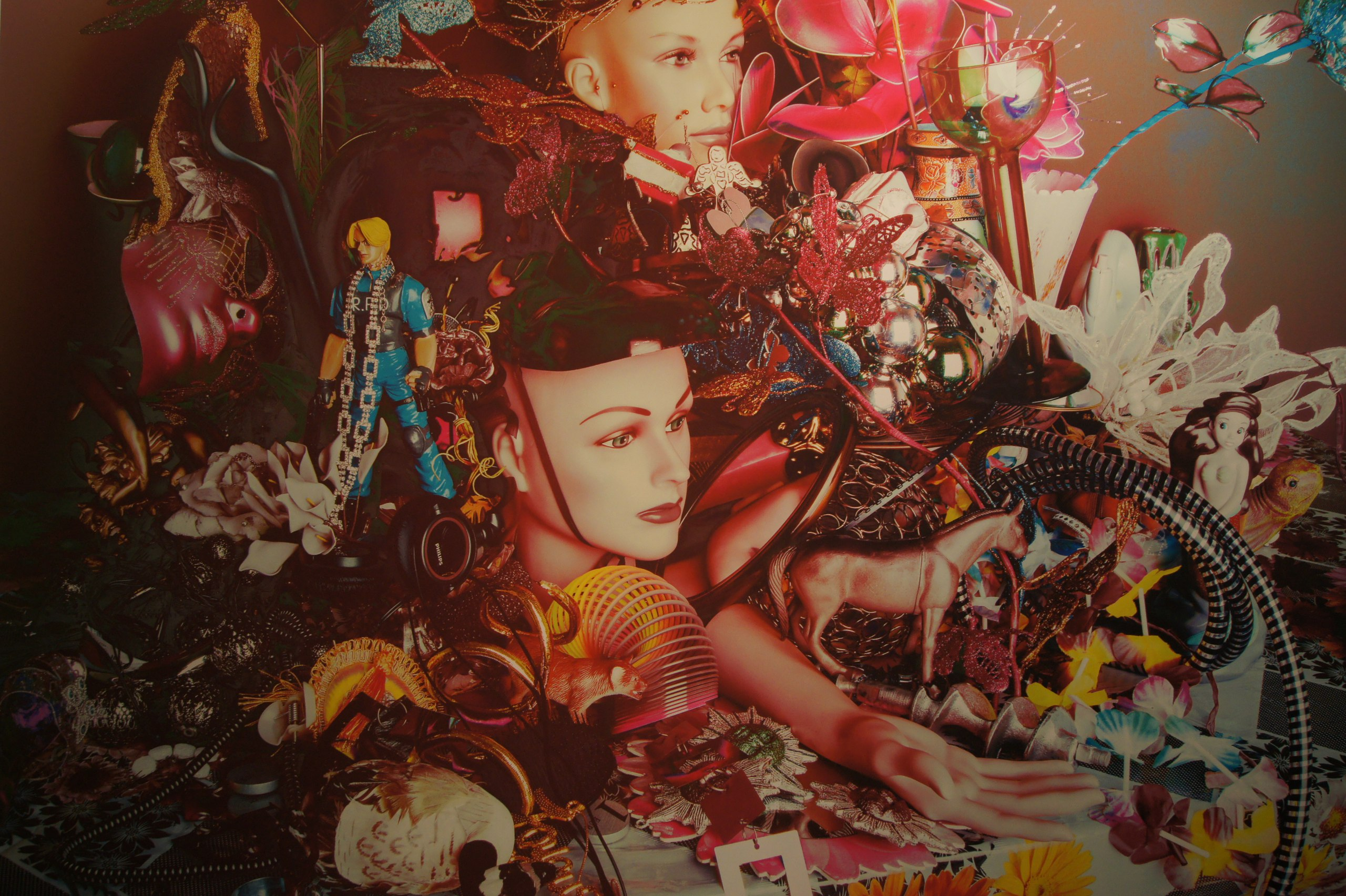 Валери Белен. Натюрморт с зеркалом. 2014. Из серии «Натюрморты» (2014)