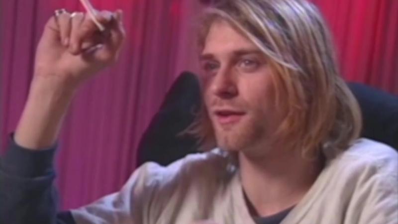 Kurt Cobain Talks Music Videos, His Stomach Frances Bean MTV News