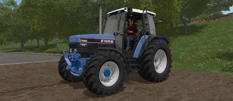 Трактор Ford 40 series