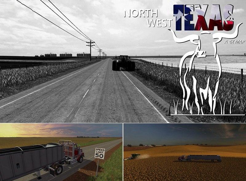 Карта North West Texas 4X