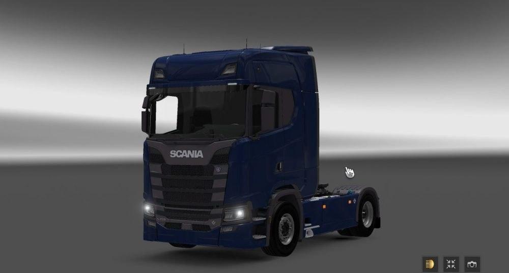 Грузовик Scania S730
