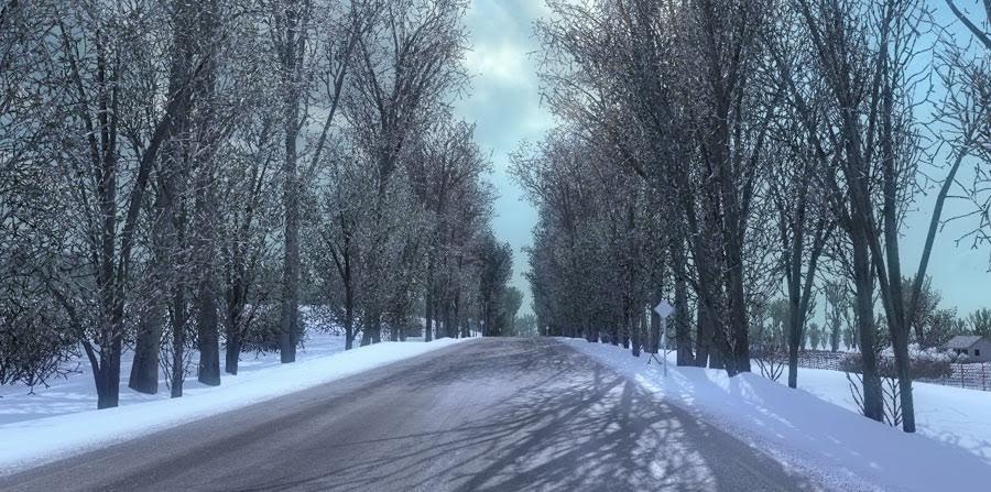 Морозная Зимняя погода мод с V 6.3