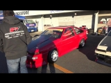 Worlds maddest AE86 drifter Kaicho Takahashi drift and crash at Tsukuba Circuit