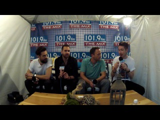 Whip Interviewing Bastille at Lollapalooza 2016