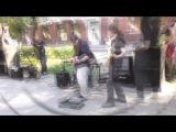 День города Кемерово 2016  Муз  ул  Весеняя  Живая инструментальная музыка