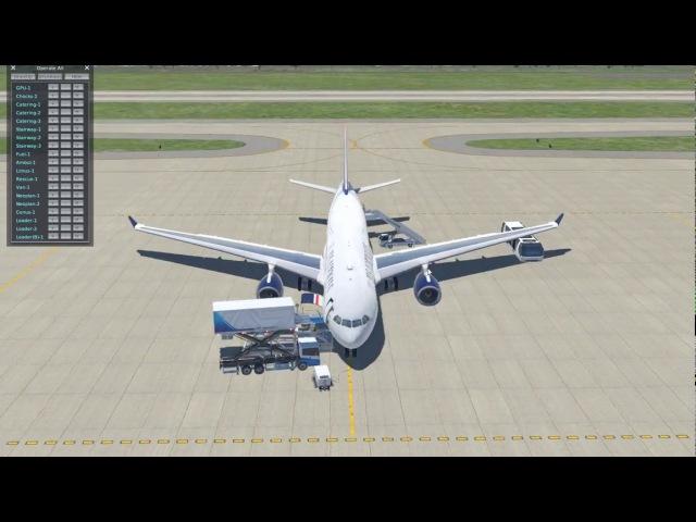 X-Plane 11 - Airbus A330 - Запуск и подготовка к полету