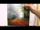 57 How To Paint Trees in The Mist | Oil Painting Tutorial
