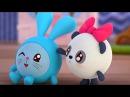 Малышарики - Мяу? Гав! (Как говорят животные)😺 - серия 65 - обучающие мультфильмы д ...