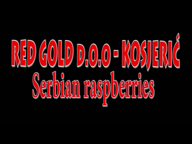 RED GOLD D.O.O - KOSJERIC